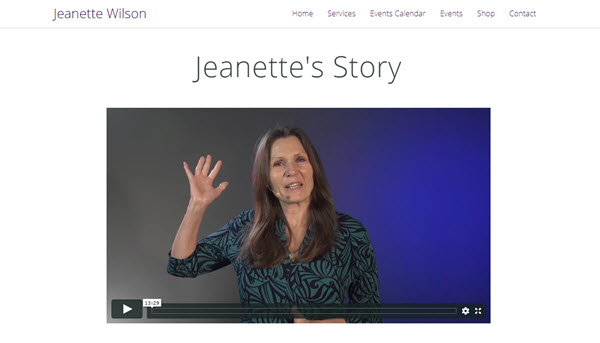 Jeanette videos on demand