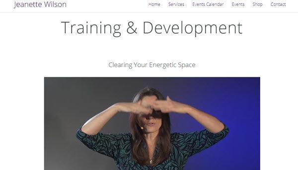 jeanette wilson training