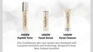 UNDEW Skin Care range