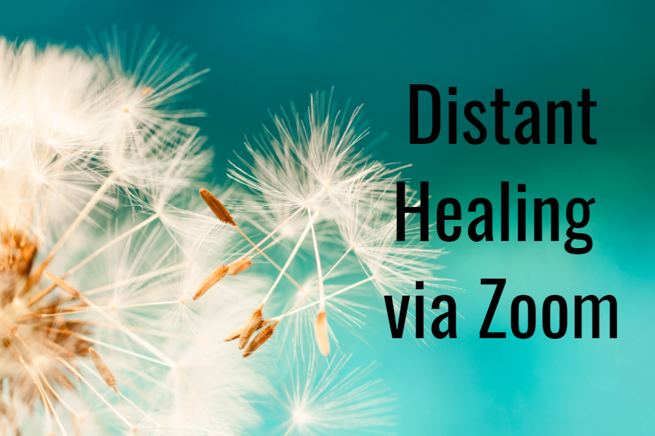 Distant Healing Via Zoom