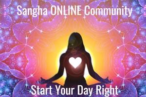 Sangha online community