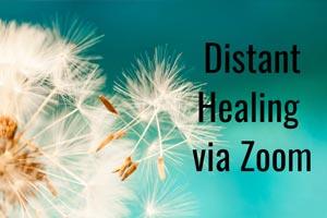 distant healing via zoom